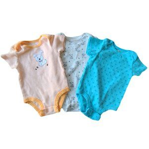 ☘️3/$30☘️ ROCCO Lot of 3 Coordinating Onesies 18mo